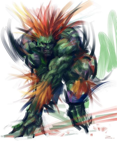 Blanka By Zhuzhu On Deviantart