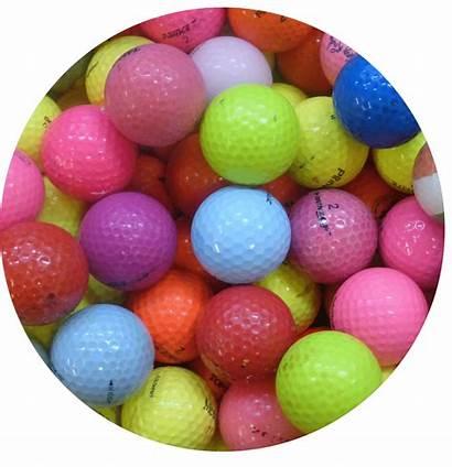 Balls Golf Practice Coloured
