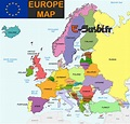 Map of Europe - Images - Arts et Voyages