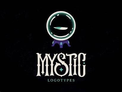 Mystic Mystery Logotypes Dribbble Guys Supernatural Paranormal
