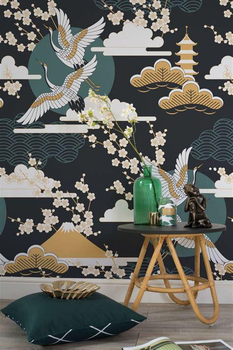 dark sky oriental wallpaper   oriental wallpaper
