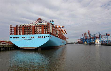 maersk lance son premier porte conteneurs sur la route du nord