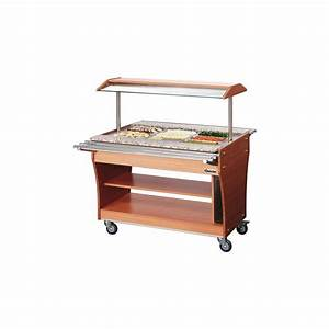 Buffet Avec Plan De Travail : buffet chaud avec 2 plans de travail en inox bartscher 125613 ~ Teatrodelosmanantiales.com Idées de Décoration