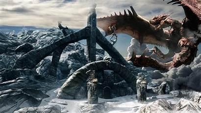Skyrim Dragon Standard