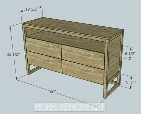 dresser plans ideas  pinterest diy furniture