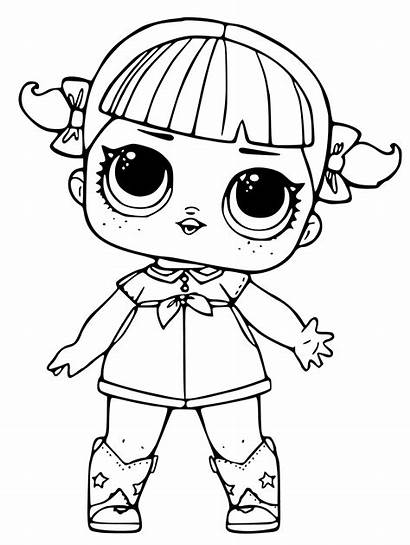 Lol Coloring Pages Dolls Doll Surprise Printable