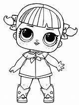 Lol Coloring Pages Dolls Doll Surprise Printable Print Getcolorings sketch template