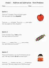 printable math word problems  word stories written