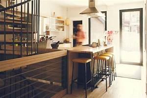 Mobilier Bois Design : mobilier de cuisine design bois hauteur d 39 homme jo yana ~ Melissatoandfro.com Idées de Décoration