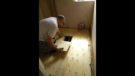 diy   install   plywood floor youtube