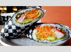 Mississauga's First to Serve Sushi Burritos Opens Up