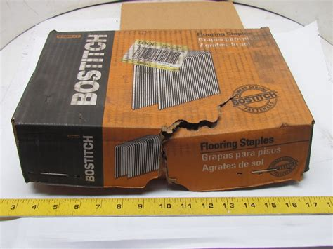 bostitch flooring staples bcs1516 stanley bostitch bcs1516 15 5ga flooring staples box of