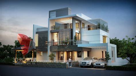 Ultra Modern Villa Designs Pictures by 3d Modern Exterior House Designs Design A House