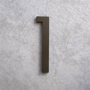 modern house numbers With modern house numbers and letters