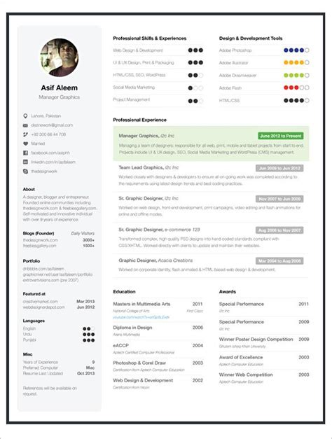 one page resume templates free sles exles
