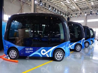 baidu to start producing apolong the autonomous 14 seater