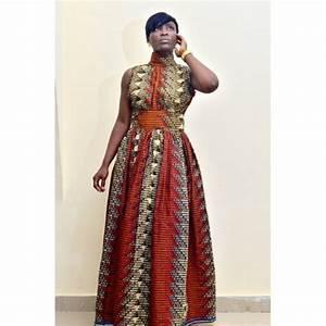 robes bon marche et de belles robe longue en pagne wax With modele de robe en pagne