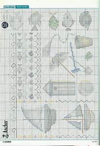 Sampler beach for your bathroom 3 free cross stitch for Bathroom cross stitch patterns free