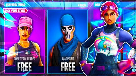 New Free by How To Get New Free Skins In Fortnite New Leaked Free