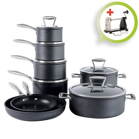Procook Forged Nonstick Induction Cookware Set Pots And
