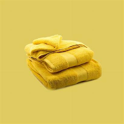 Yellow Towels Cotton Towel Dream