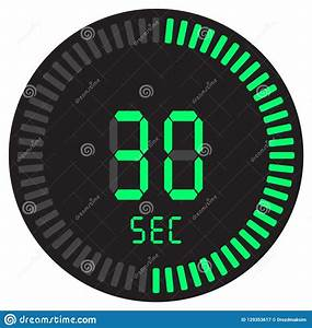 The, Digital, Timer, 30, Seconds, Electronic, Stopwatch, With, A