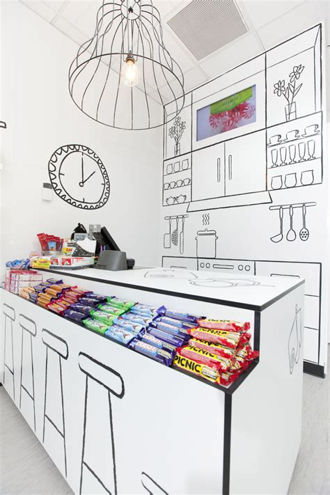 candy room  red design group melbourne