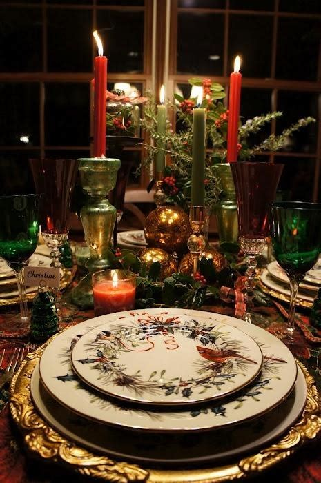 table setting for christmas traditional table setting christmas pinterest