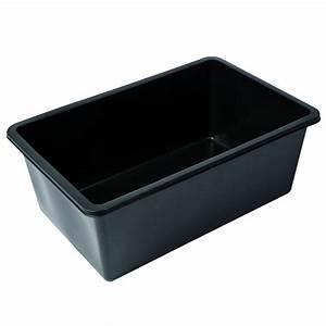 Bassin En Plastique : bassin de jardin ubbink pr form quadra c3 365 l ~ Premium-room.com Idées de Décoration