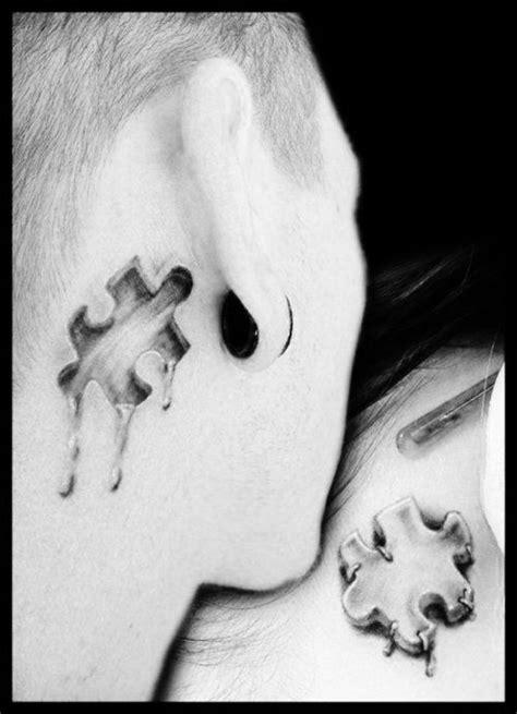 Puzzle Tattoo   Tattoos   Pinterest   Tattoo ideas, Tat and Cool couple tattoos