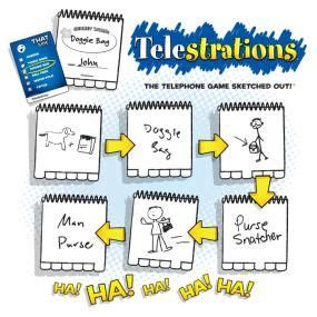 telestrations draw guess miscellaneous activies