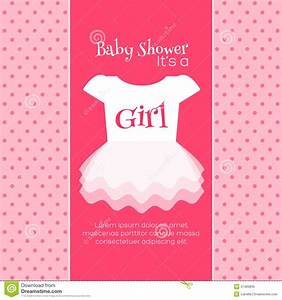 Baby Shower Invitations For Girls Templates | THERUNTIME.COM