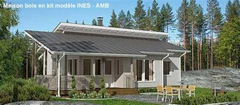 construction de maison bois en kit kit bois massif