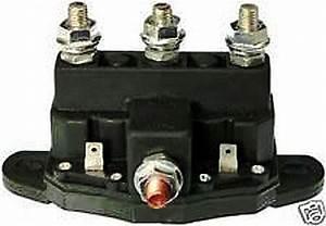 Atv Winch Motor Solenoid Reversing Polarity Relay Switch 6