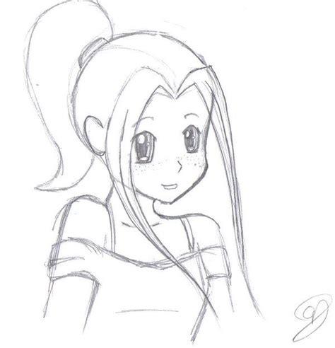 girl drawing easy ideas  pinterest pretty