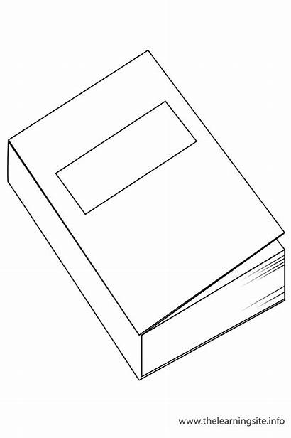 Objects Coloring Classroom Outline Flashcard Pages Flashcards
