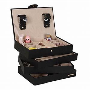 Boite A Bijoux Grande : grande bo te bijoux 4 empil s d 39 armoire placard de rangement ~ Teatrodelosmanantiales.com Idées de Décoration