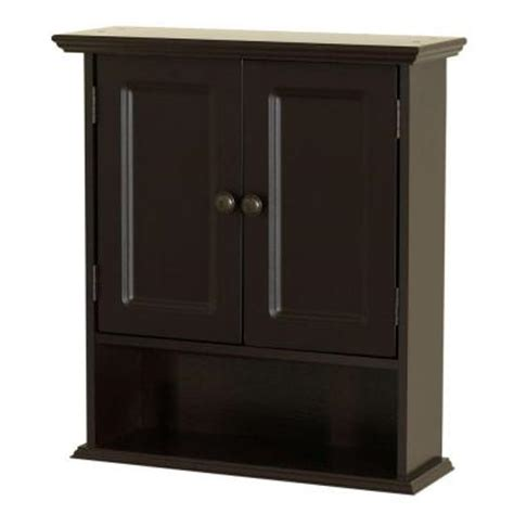 home depot bathroom wall cabinets zenith collette 21 50 in w x 24 in wall cabinet in