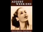 August Week End (1936) - FULL Movie - Valerie Hobson, Paul ...