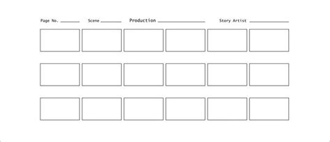 storyboard template pdf 70 storyboard templates free word pdf ppt documents