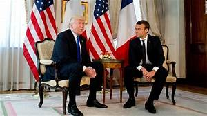 Trump woos Macron, may disappoint on Paris Agreement ...