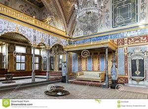 Throne Room At Topkapi Palace Harem Section, Istanbul ...