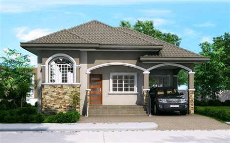 Katrina Is A 3 Bedroom Bungalow House Plan. This House