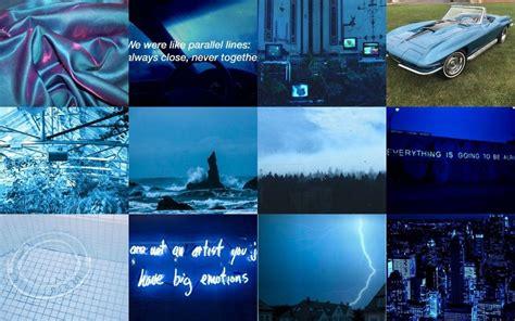 30 blue aesthetic laptop images hd photos