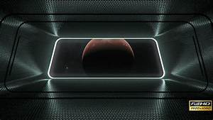 Space Station Window by blohslv | VideoHive