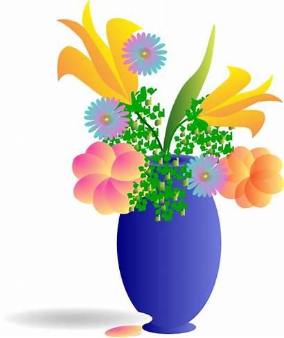 Bunch Flowers Clip Clipart Mother Vector Clker