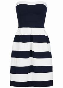 Strandkorb Blau Weiß : styleboom fashion damen mini bandeau kleid gestreift brustpads navy blau weiss 77onlineshop ~ Whattoseeinmadrid.com Haus und Dekorationen