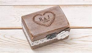 Ring box wedding ring holder ring pillow bearer box with for Wedding ring holder box