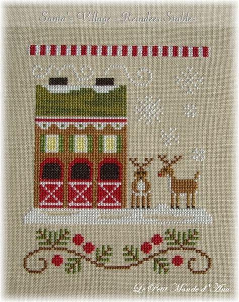 point de croix xmas 167 best images about point de croix maison on punto winter house and cottages
