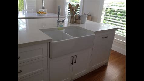 kitchen island with sink for butler sinks with drainers small uk 9452